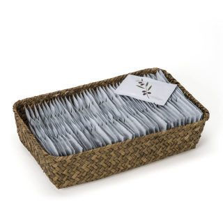 "Powder Room Basket ""New Look"" - Olive"