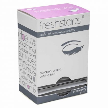 Freshstarts Makeup Remover Towelettes Retail Box
