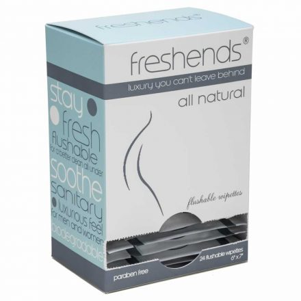 Freshends All Natural Towelettes Retail Box